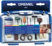 Набор оснастки Dremel 687 52 предмета [26150687JA]