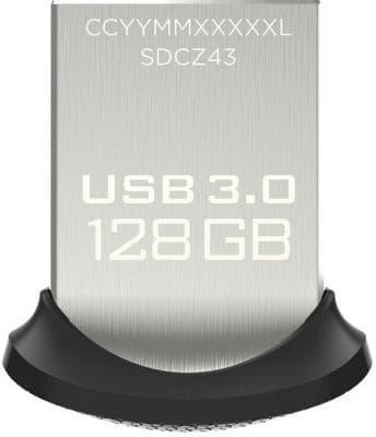 USB Flash SanDisk Ultra Fit 128GB [SDCZ43-128G-GAM46]