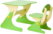 Детский стол Столики Детям Буслик Б-БС (салатовый/бежевый)
