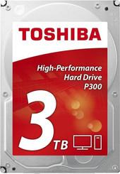 Жесткий диск Toshiba P300 3TB [HDWD130EZSTA]