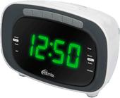 Радиочасы Ritmix RRC-1250 (белый)