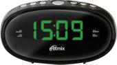 Радиочасы Ritmix RRC-616 (черный)