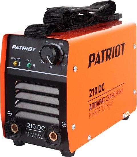Сварочный инвертор Patriot 210DC MMA