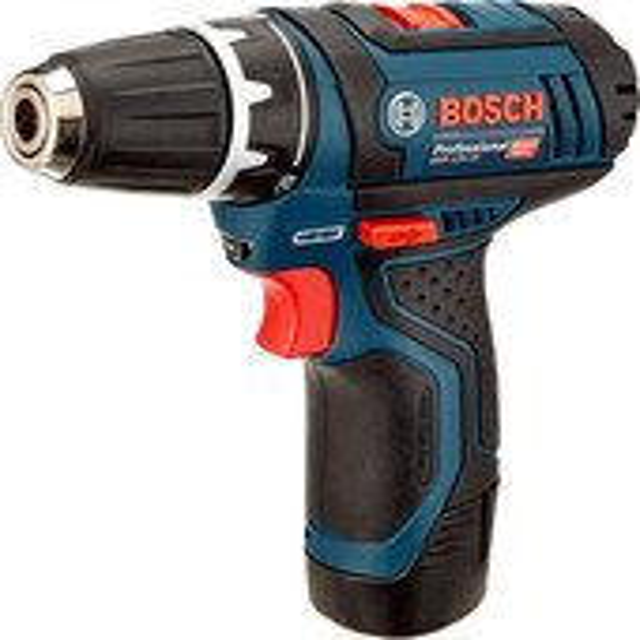 Дрель-шуруповерт Bosch GSR 12V-15 Professional 0601868122 (с 2-мя АКБ, кейс)
