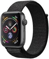 Умные часы Apple Watch Series 4 40 мм (алюминий серый космос/нейлон черный)