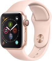 Умные часы Apple Watch Series 4 40 мм (алюминий золотистый/розовый песок)