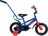 Детский велосипед AIST Pluto 12 (синий/красный, 2019)