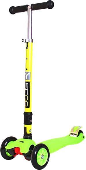Самокат Y-Scoo Maxi Fix Simple 35 (зеленый)