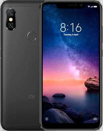 Смартфон Смартфон Xiaomi Redmi Note 6 Pro 4GB/64GB международная версия (черный)