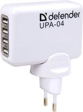 Сетевое зарядное Defender UPA-04 [83521]