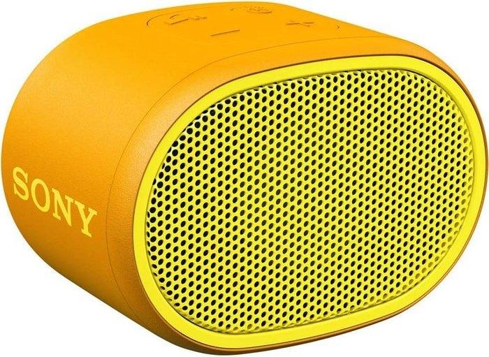 Беспроводная колонка Sony SRS-XB01 (желтый)