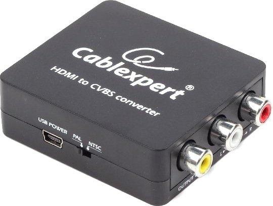 Адаптер Cablexpert DSC-HDMI-CVBS-001