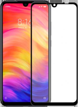 Защитное 5D Стекло для Xiaomi Redmi Note 7 (черное)