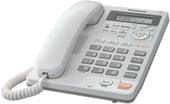 Проводной телефон Panasonic KX-TS2570RUW (белый)