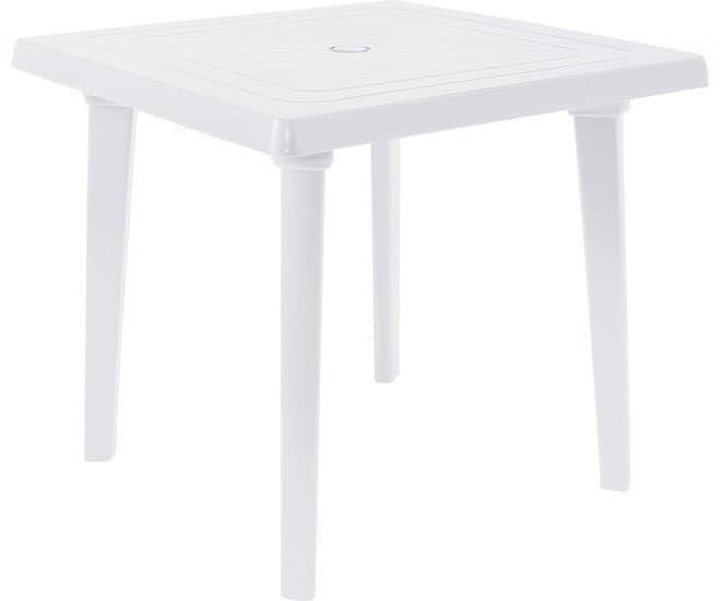 Стол Алеана Квадратный 80х80 см (белый)