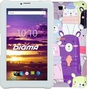 Планшет Digma Plane 7565N PS7180PG 16GB 3G (розовый/белый)