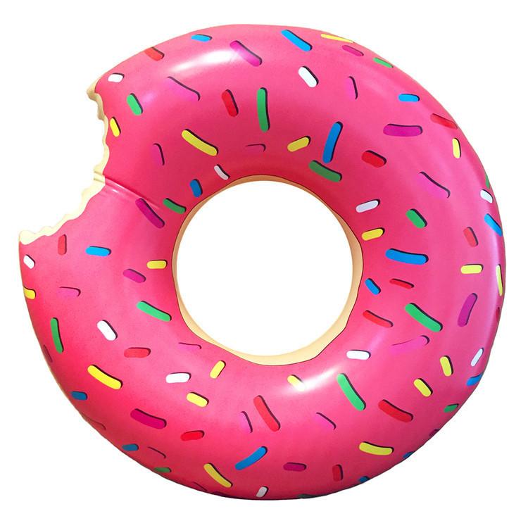Надувной круг Swim Ring 120 (Розовый)
