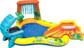 Надувной бассейн Intex Dinosaur Play Center 249x191x109 (57444)
