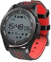Умные часы Умные часы NO.1 F3 (красный/черный)