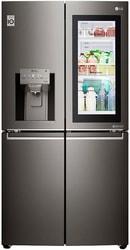 Четырёхдверный холодильник LG GR-X24FTKSB