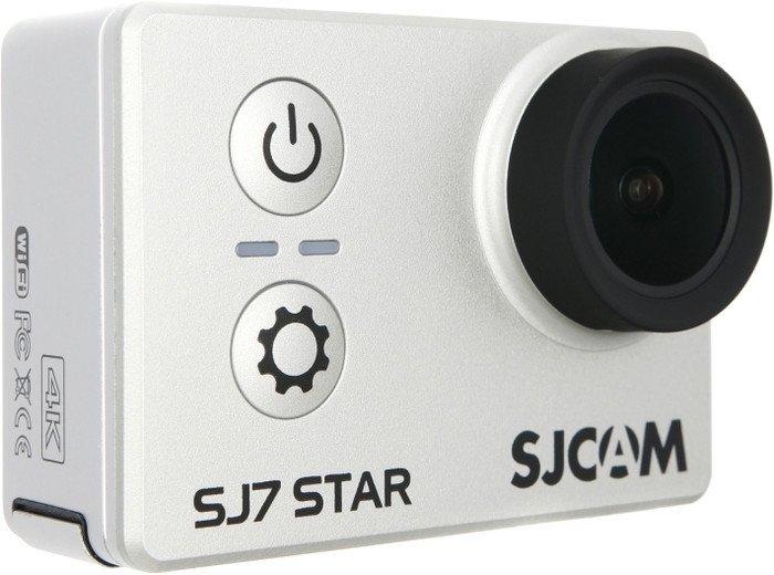 Экшен-камера SJCAM SJ7 STAR (серебристый)