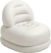 Надувное кресло Intex 68592 белый