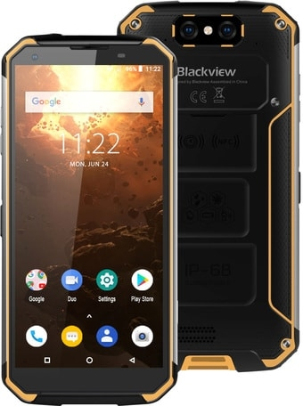 Смартфон Смартфон Blackview BV9500 Plus (желтый)