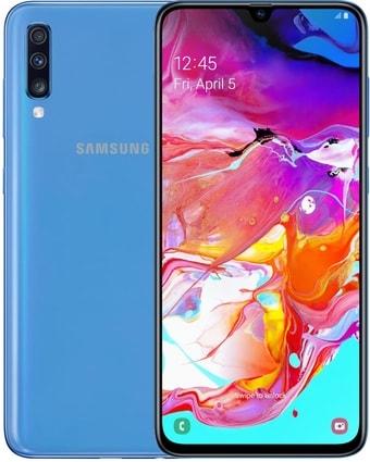 Смартфон Samsung Galaxy A70 8GB/128GB (синий)
