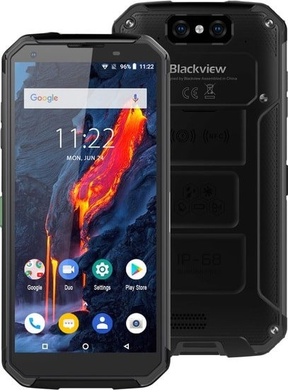 Смартфон Blackview BV9500 Plus (черный)