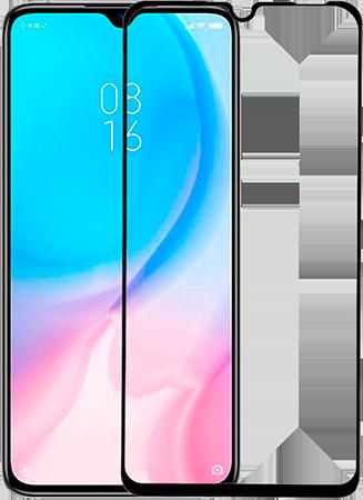 Защитное 5D Стекло для Xiaomi Mi 9 Lite (черное)