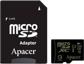 Карта памяти Карта памяти Apacer microSDXC AP128GMCSX10U1-R 128GB (с адаптером)