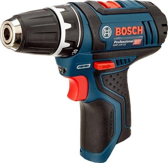 Дрель-шуруповерт Bosch GSR 12V-15 Professional 0601868101 (без АКБ)