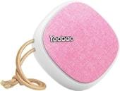 Беспроводная колонка Yoobao M1 (розовый)