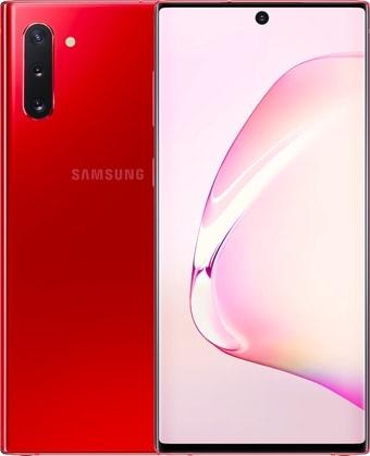 Смартфон Samsung Galaxy Note10 N970 8GB/256GB Dual SIM Exynos 9825 (красный)