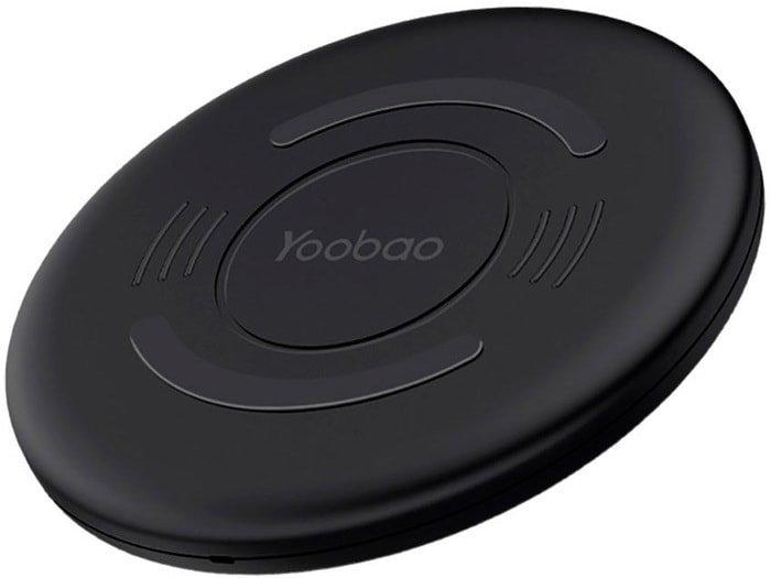 Беспроводное зарядное Yoobao Wireless Charging Pad D1 (черный)