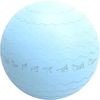 Мяч Sundays Fitness IRBL17106 65 см (голубой)