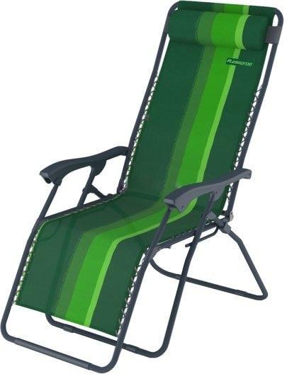 Шезлонг Zagorod К 101 (зеленый)