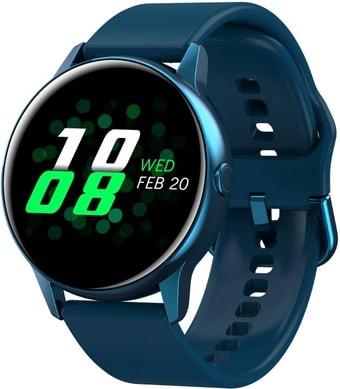 Умные часы NO.1 DT88 (синий, силиконовый ремешок)