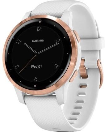 Умные часы Garmin Vivoactive 4s (белый/золотистый)