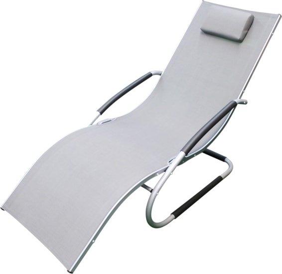Шезлонг Sundays C3005 (серый)
