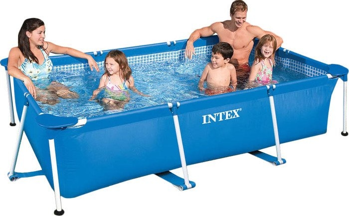 Каркасный бассейн Intex Rectangular Frame 220х150х60 (58983/28270)
