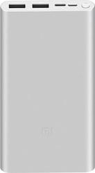 Портативное зарядное устройство Xiaomi Mi Power Bank 3 PLM13ZM 10000mAh (серебристый)