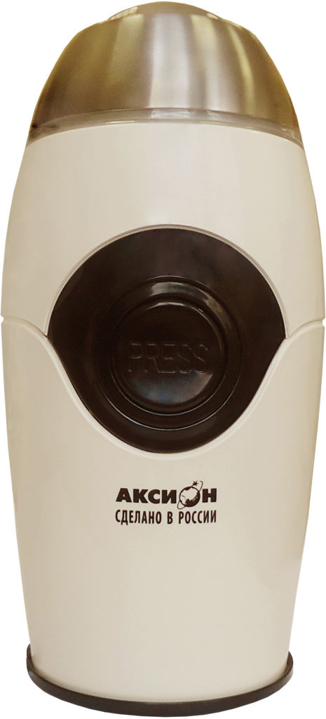 Электрическая кофемолка Электрическая кофемолка Аксион КМ-22 (бежевый)