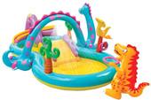 Надувной бассейн Надувной бассейн Intex игровой центр Dinoland (57135)