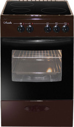 Кухонная плита Лысьва ЭПС 301 МС (коричневый)