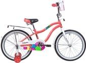 Детский велосипед Novatrack Candy 20 (коралловый, 2019)