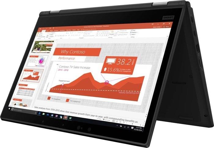 Ноутбук 2-в-1 Ноутбук Lenovo ThinkPad L390 Yoga 20NT0016RT