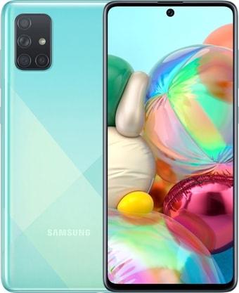 Смартфон Samsung Galaxy A71 SM-A715F/DSM 6GB/128GB (голубой)