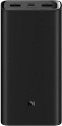 Портативное зарядное устройство Xiaomi Mi Power Bank 3 PLM07ZM 20000mAh (черный)