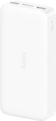 Портативное зарядное устройство Xiaomi Redmi Power Bank 20000mAh (белый)